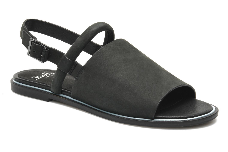 Sandales et nu-pieds Shellys London SALVANT Noir vue détail/paire