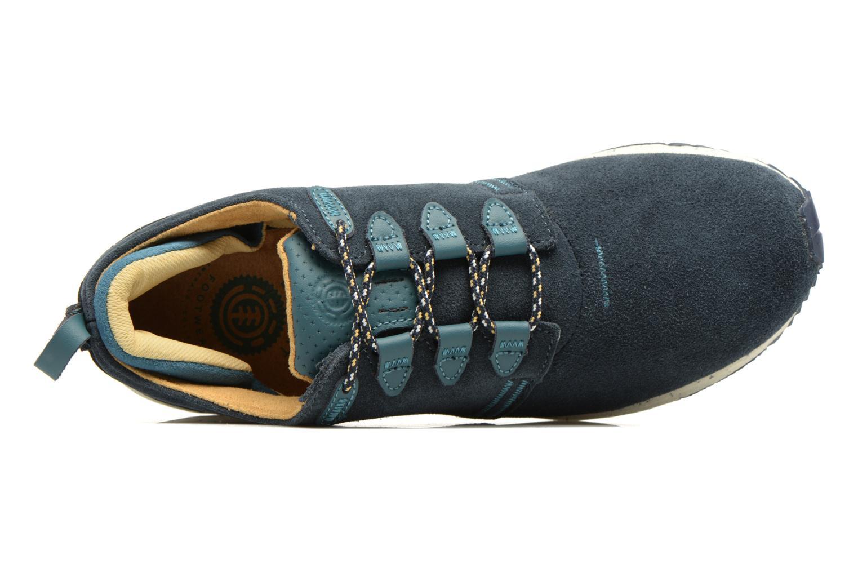 Baskets Element Mitake Bleu vue gauche