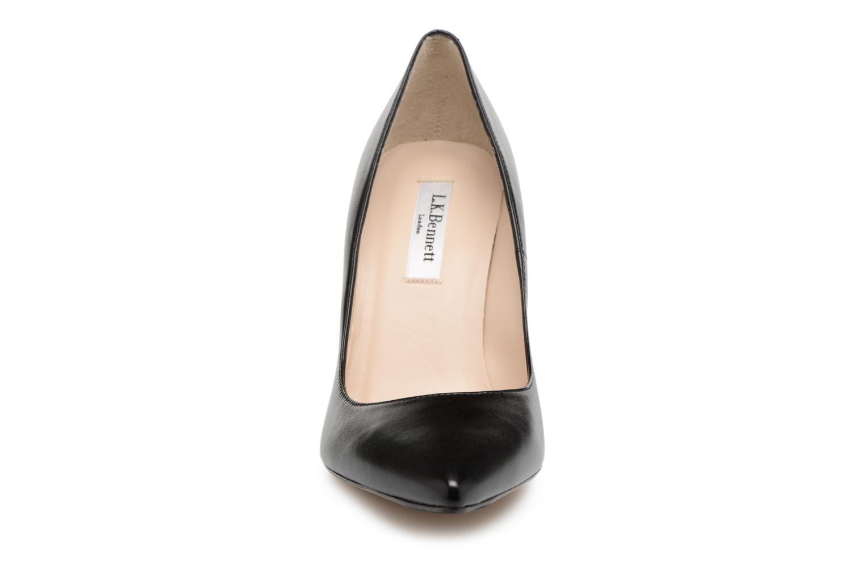 High heels L.K. Bennett Fern Black model view