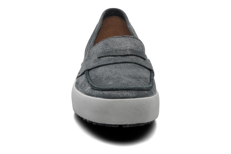 Slipper Blackstone Emy-JL23 schwarz schuhe getragen