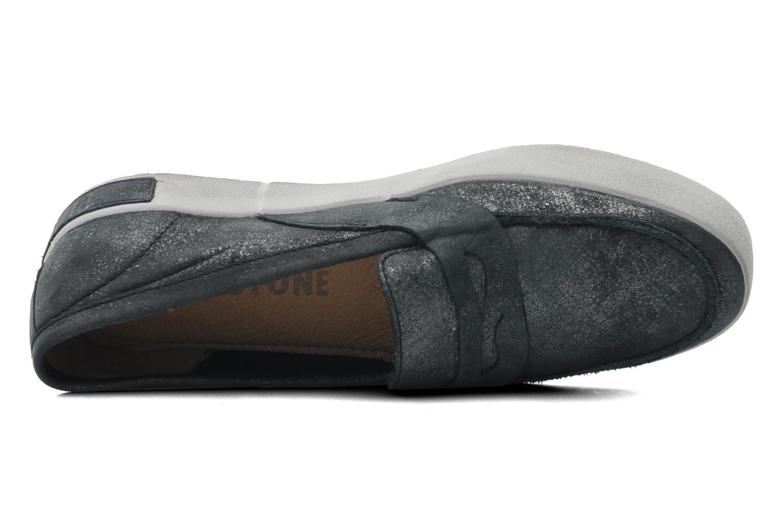 Slipper Blackstone Emy-JL23 schwarz ansicht von links