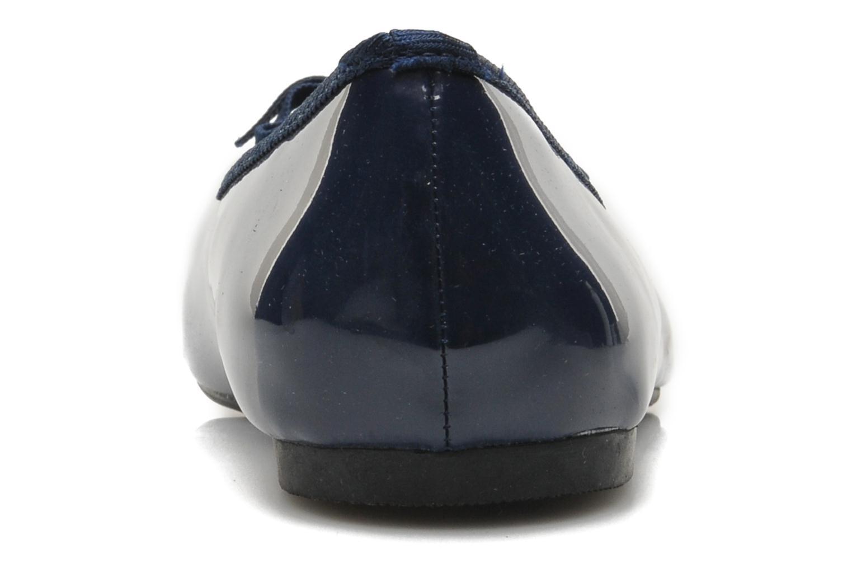 Ballerine classique vernis Bleu marine