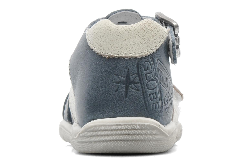 Sandales et nu-pieds GBB IBERE Bleu vue droite
