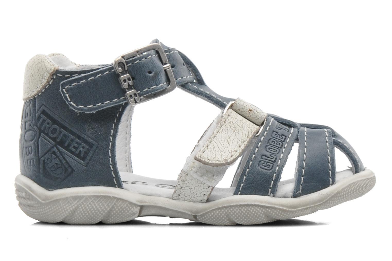 Sandales et nu-pieds GBB IBERE Bleu vue derrière