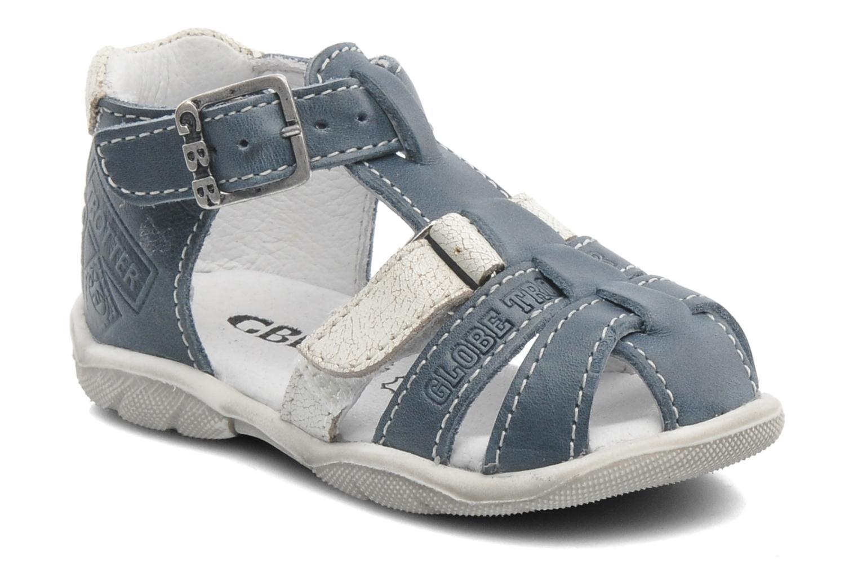 Sandales et nu-pieds GBB IBERE Bleu vue détail/paire