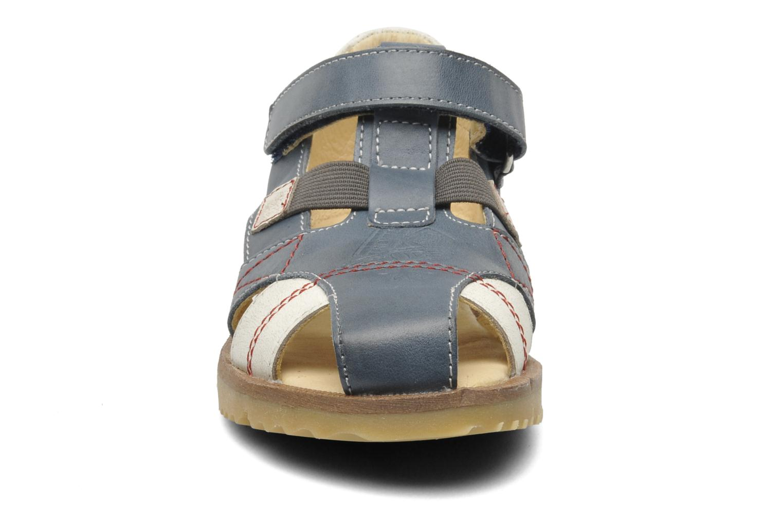 Sandalen GBB INCAS blau schuhe getragen
