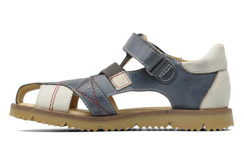 Sandalen GBB INCAS blau ansicht von vorne