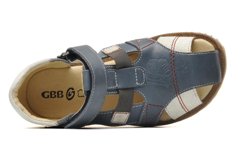 Sandalen GBB INCAS blau ansicht von links
