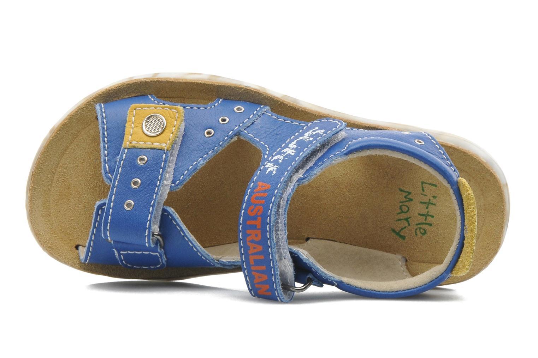 Sandales et nu-pieds Little Mary SURFER Bleu vue gauche
