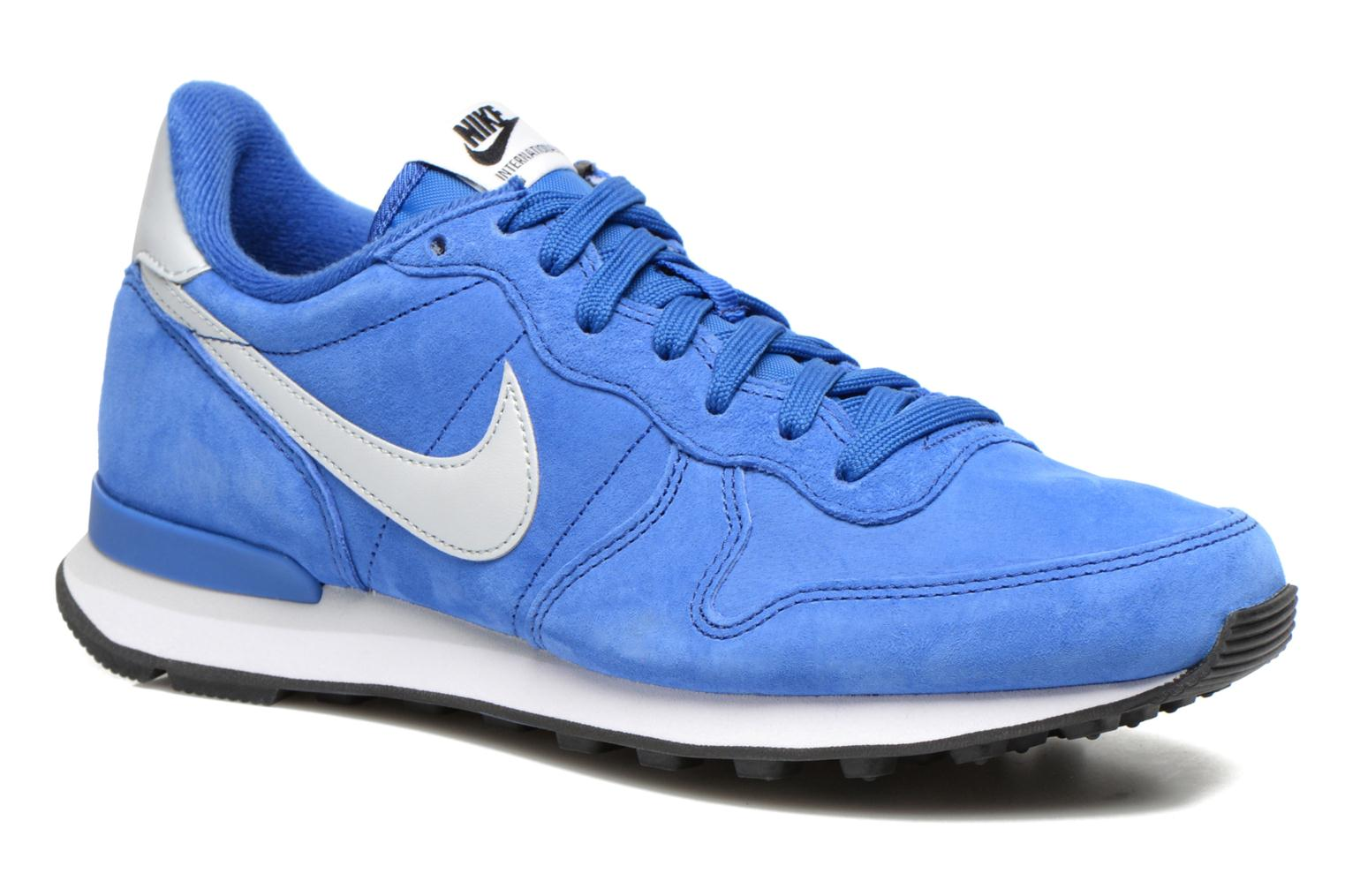 Nike Internationalist Leather Game Royal/Pr Pltnm-Blck-Wht