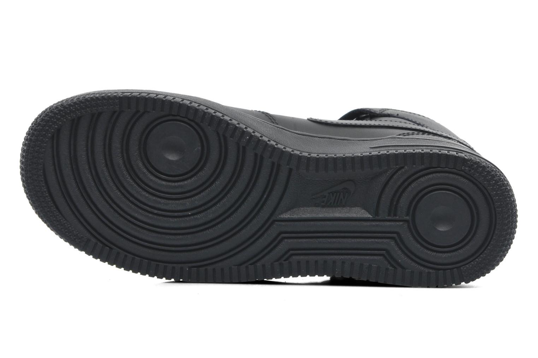 Baskets Nike Wmns Air Force 1 Mid '07 Le Noir vue haut