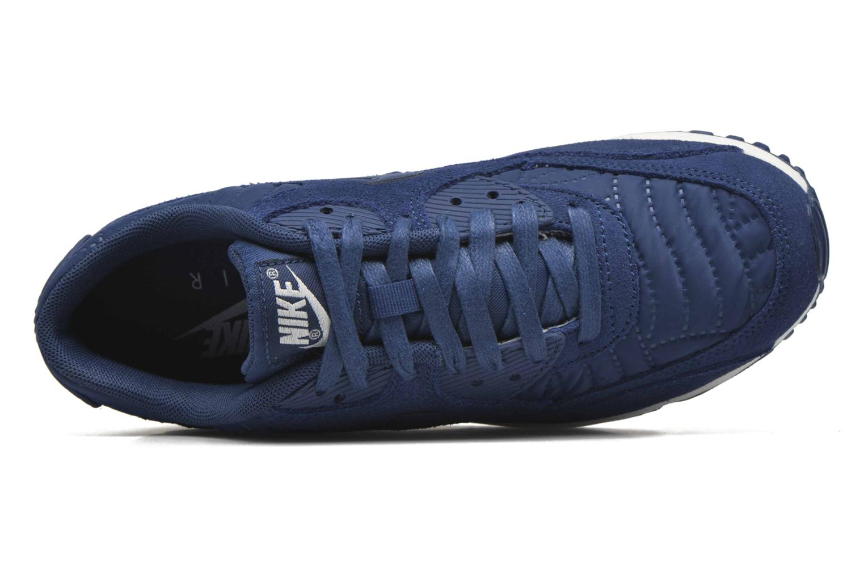 Baskets Nike Wmns Air Max 90 Prem Bleu vue gauche