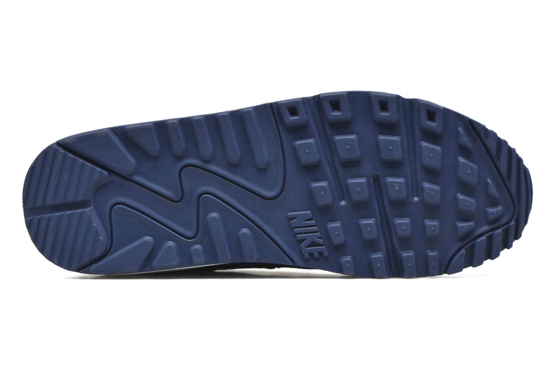 Baskets Nike Wmns Air Max 90 Prem Bleu vue haut