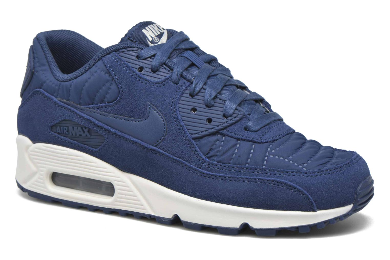 Baskets Nike Wmns Air Max 90 Prem Bleu vue détail/paire