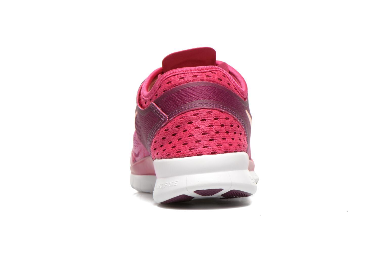 Sportschuhe Nike Wmns Nike Free 5.0 Tr Fit 5 Prt rosa ansicht von rechts