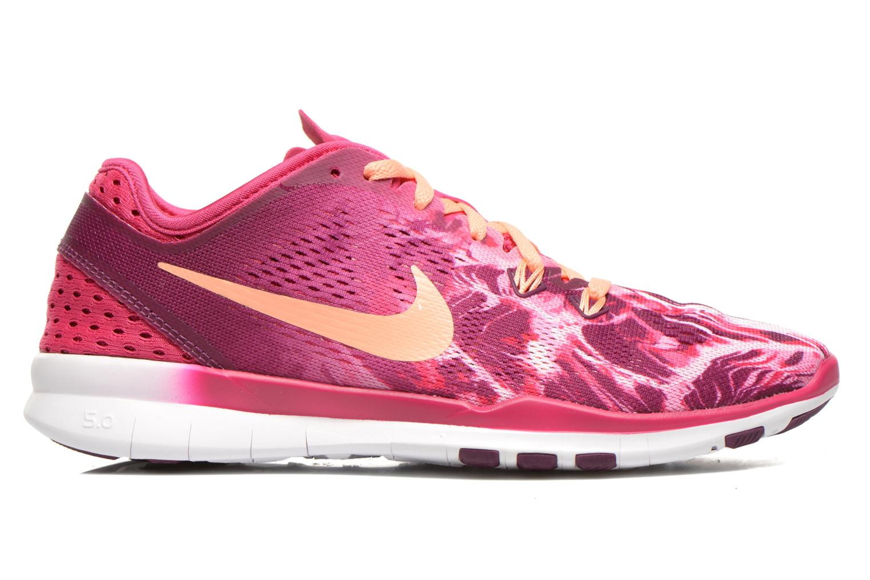 Sportschuhe Nike Wmns Nike Free 5.0 Tr Fit 5 Prt rosa ansicht von hinten