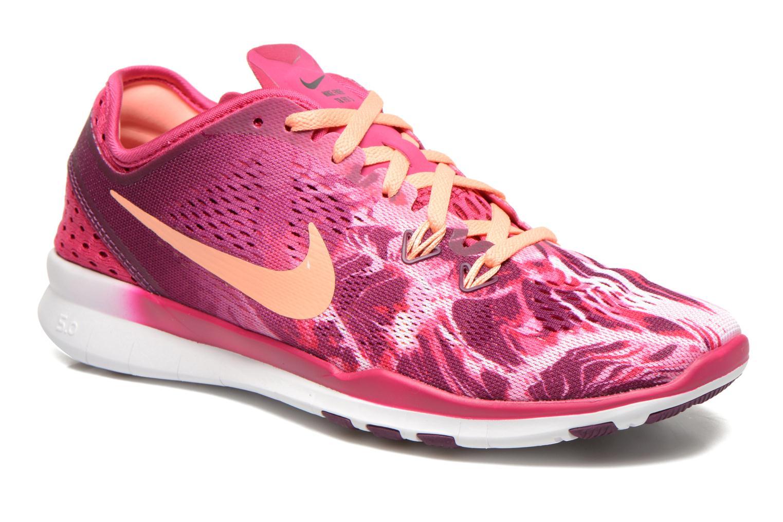 Sportschoenen Nike Wmns Nike Free 5.0 Tr Fit 5 Prt Roze detail