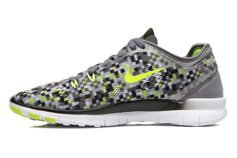 Chaussures de sport Nike Wmns Nike Free 5.0 Tr Fit 5 Prt Gris vue face