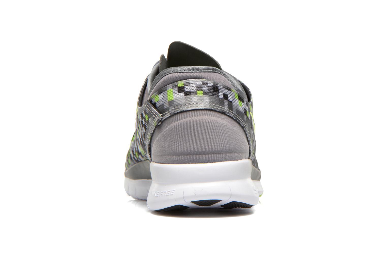 Chaussures de sport Nike Wmns Nike Free 5.0 Tr Fit 5 Prt Gris vue droite