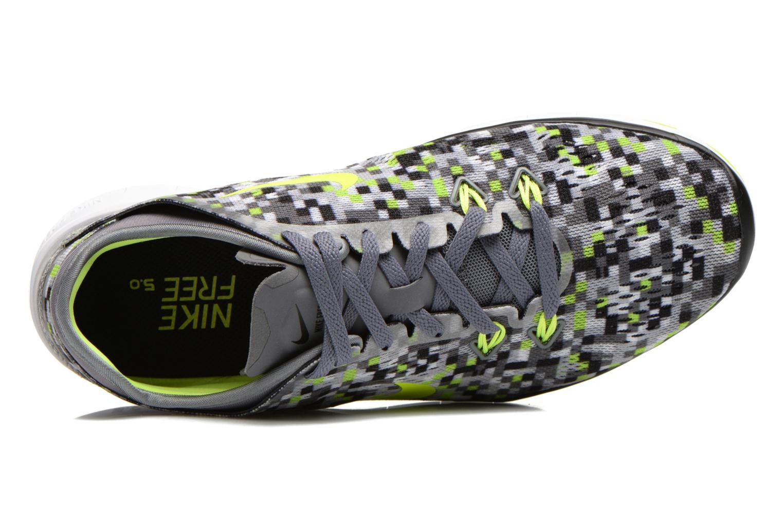 Sportschoenen Nike Wmns Nike Free 5.0 Tr Fit 5 Prt Grijs links