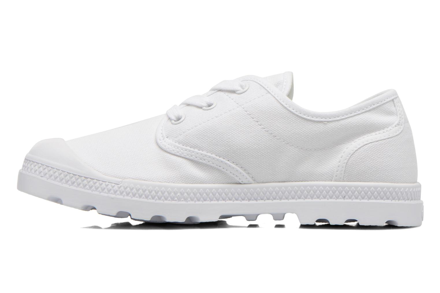 Trainers Palladium Us Oxford Lp F White front view