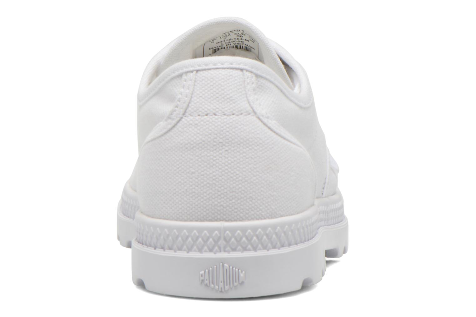 Trainers Palladium Us Oxford Lp F White view from the right