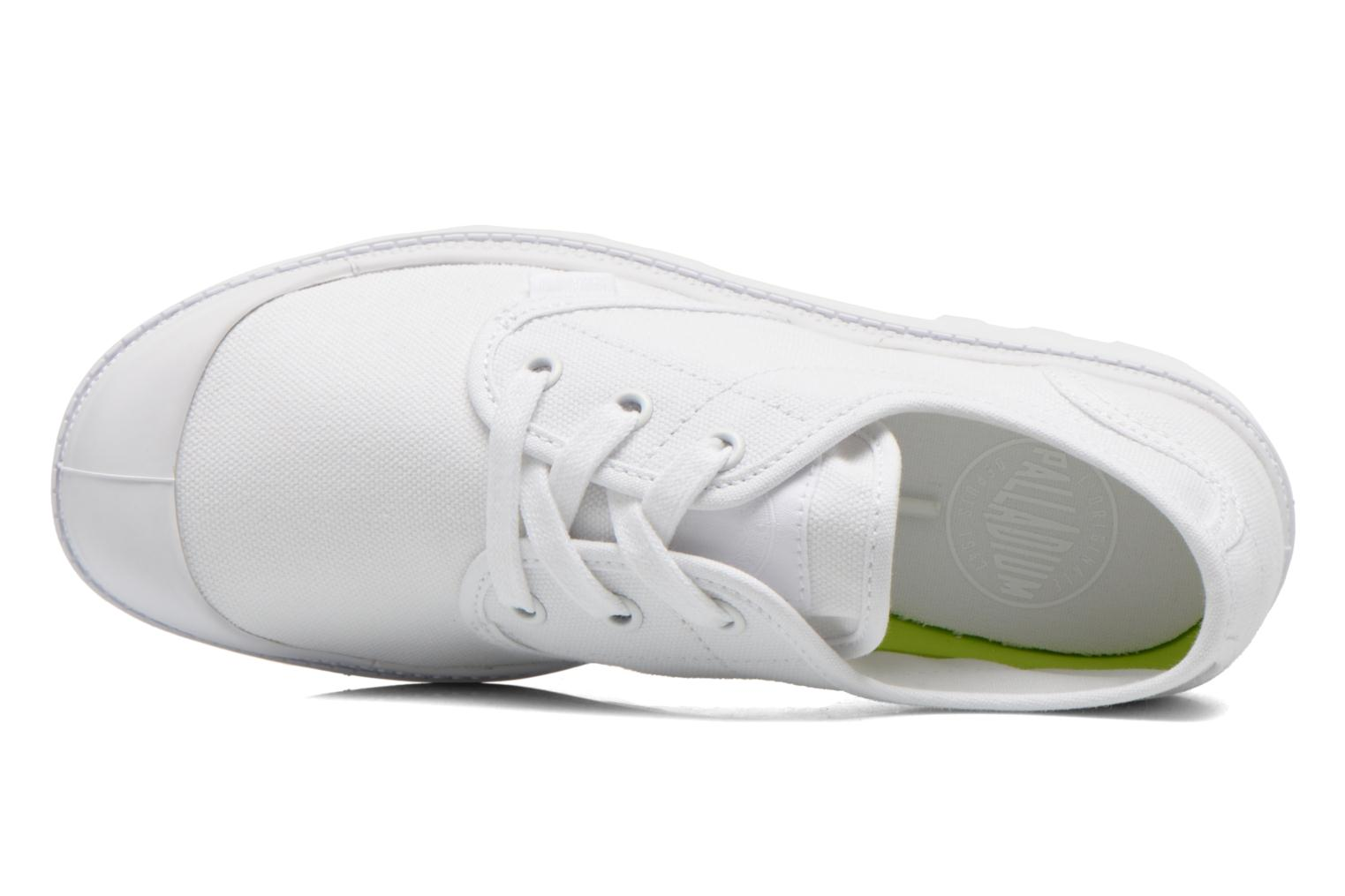 Trainers Palladium Us Oxford Lp F White view from the left
