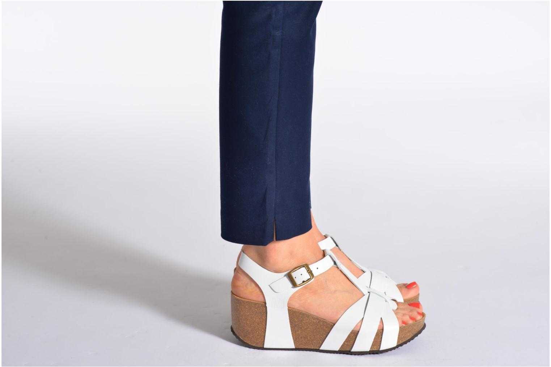 Sandales et nu-pieds No Box Judy Noir vue bas / vue portée sac
