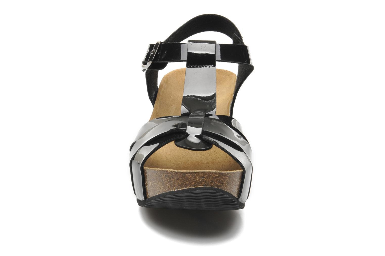 Sandales et nu-pieds No Box Judy Noir vue portées chaussures
