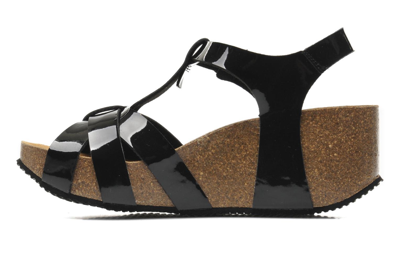 Sandales et nu-pieds No Box Judy Noir vue face