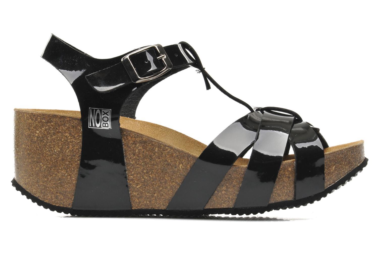 Sandales et nu-pieds No Box Judy Noir vue derrière
