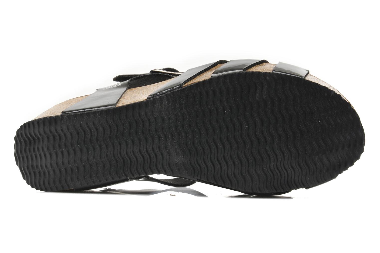 Sandales et nu-pieds No Box Judy Noir vue haut