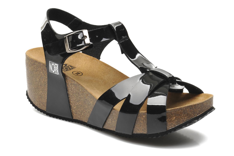 Sandales et nu-pieds No Box Judy Noir vue détail/paire