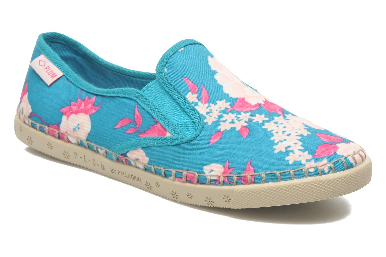 Baskets P-L-D-M By Palladium Bora Big Flower Bleu vue détail/paire