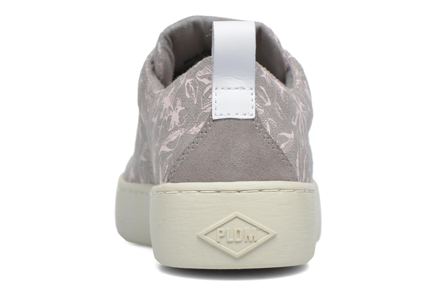Trainers P-L-D-M By Palladium Ganama Print Grey view from the right