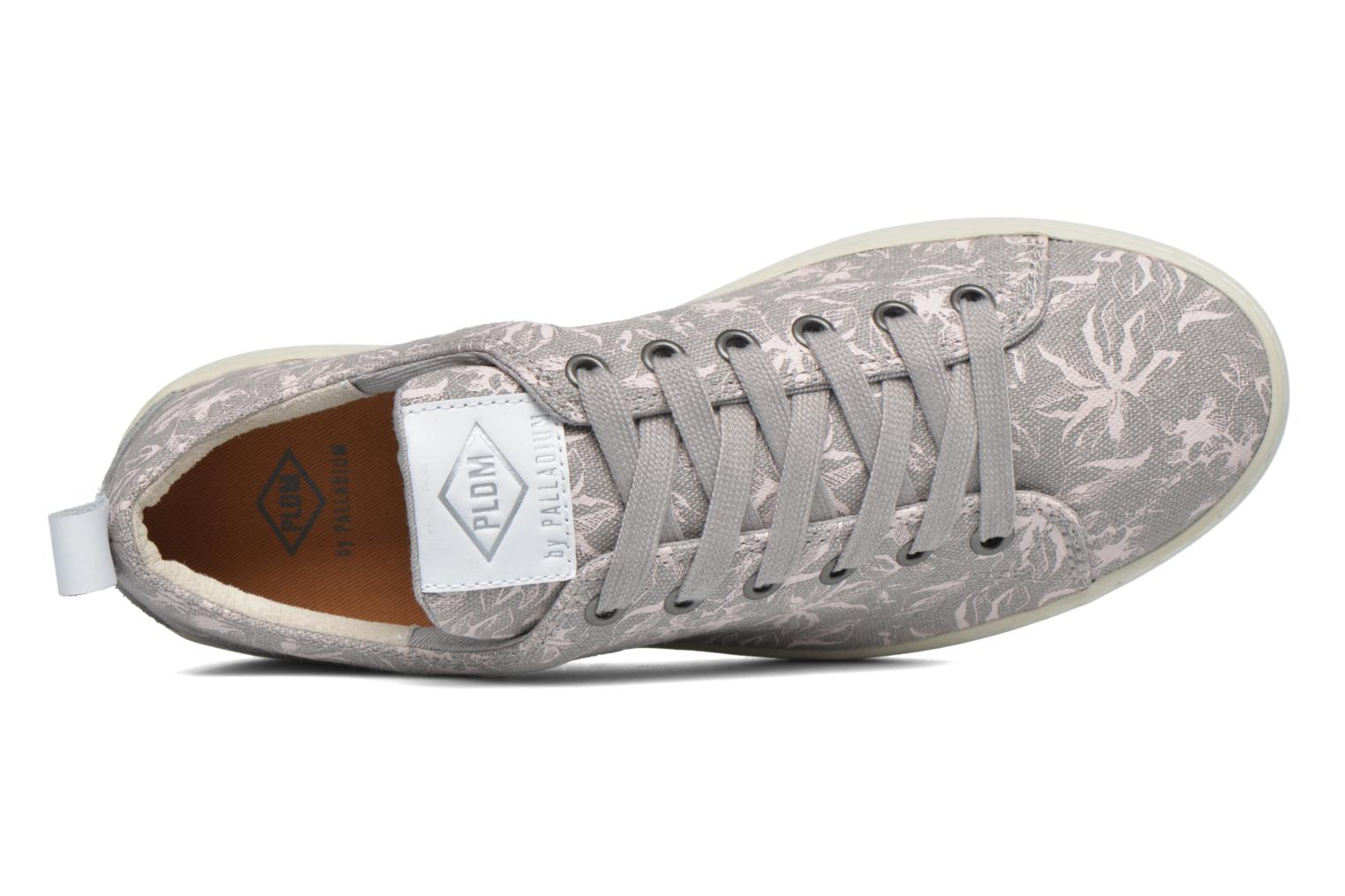 Trainers P-L-D-M By Palladium Ganama Print Grey view from the left