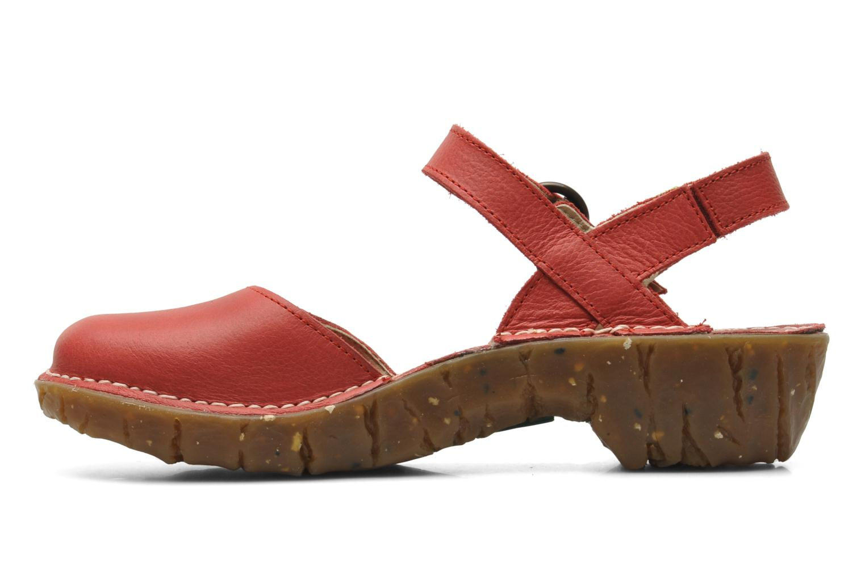 Sandali e scarpe aperte El Naturalista Yggdrasil N178 Rosso immagine frontale