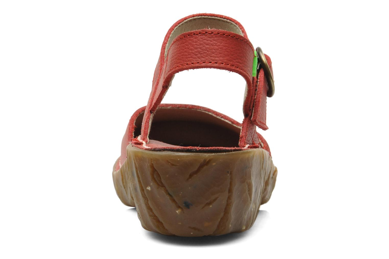 Sandali e scarpe aperte El Naturalista Yggdrasil N178 Rosso immagine destra
