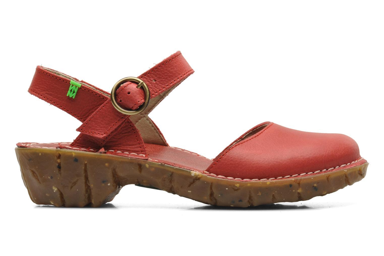 Sandales et nu-pieds El Naturalista Yggdrasil N178 Rouge vue derrière