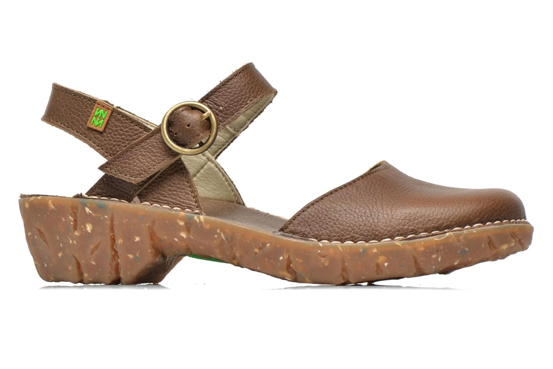 Sandales et nu-pieds El Naturalista Yggdrasil N178 Marron vue derrière