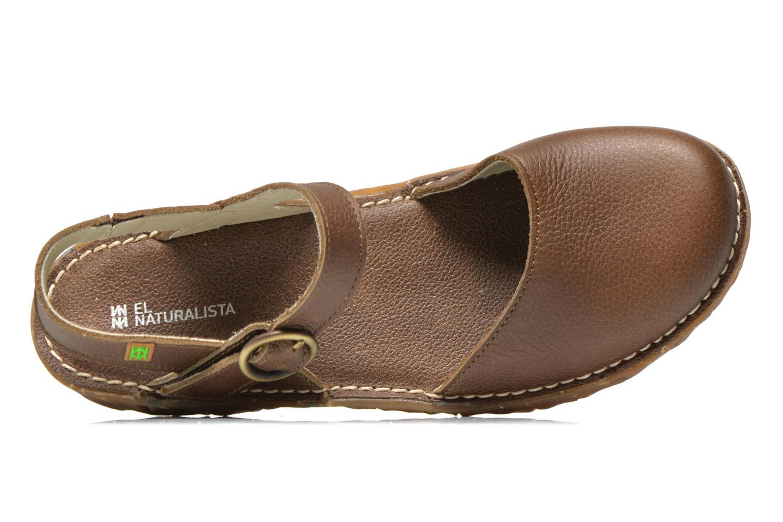 Sandales et nu-pieds El Naturalista Yggdrasil N178 Marron vue gauche