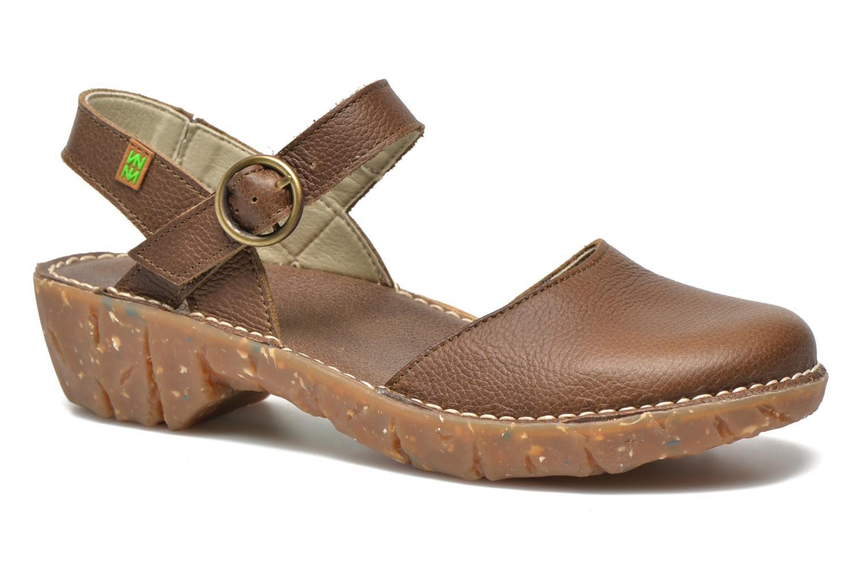 Sandales et nu-pieds El Naturalista Yggdrasil N178 Marron vue détail/paire
