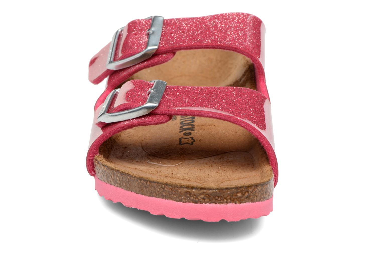 Sandals Birkenstock Arizona Birko-Flor Pink model view