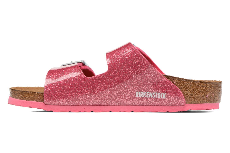 Sandals Birkenstock Arizona Birko-Flor Pink front view