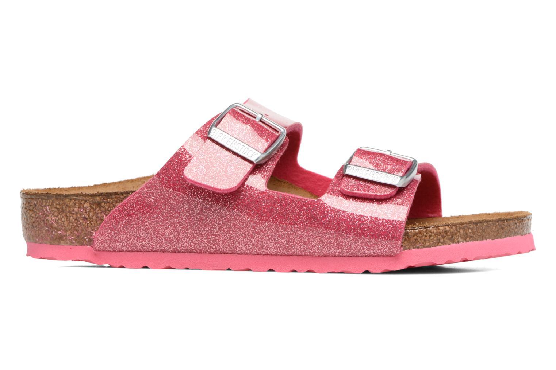 Sandals Birkenstock Arizona Birko-Flor Pink back view