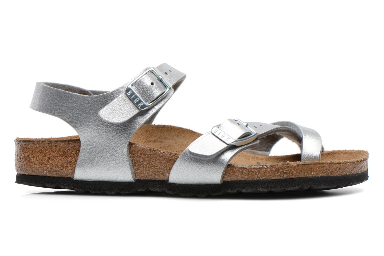 Sandales et nu-pieds Birkenstock TAORMINA Argent vue derrière
