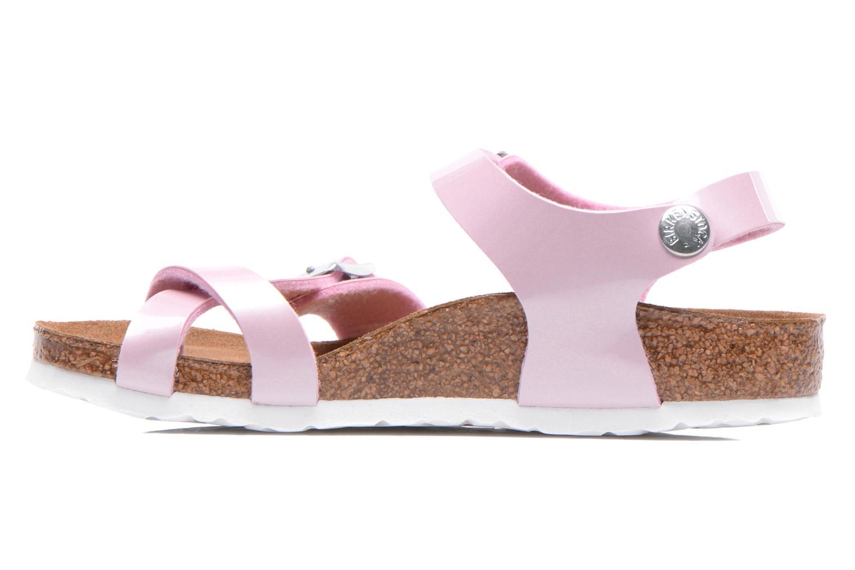 Sandals Birkenstock TAORMINA Pink front view