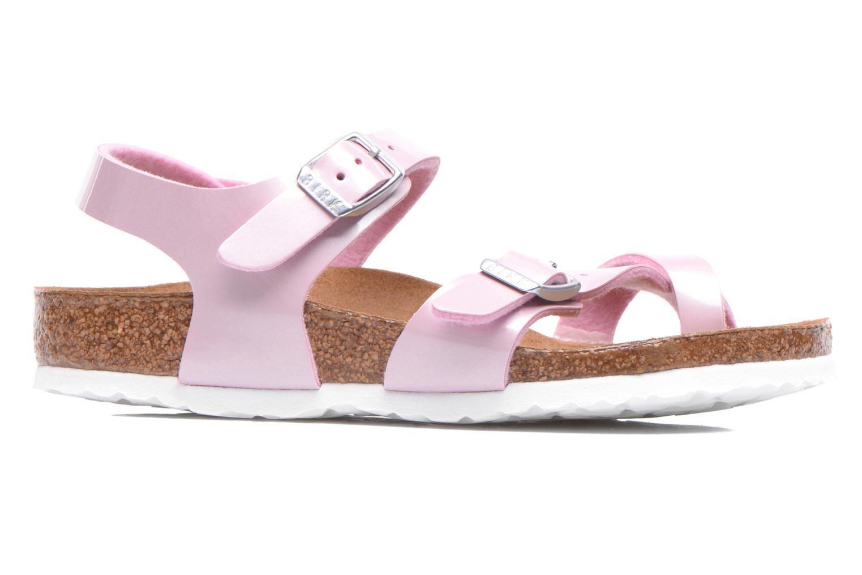 Sandals Birkenstock TAORMINA Pink back view