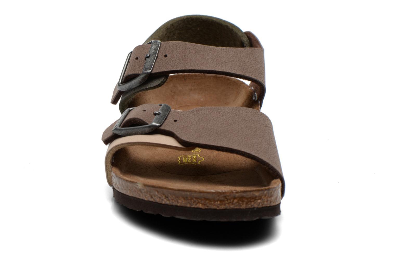 Sandales et nu-pieds Birkenstock NEW YORK Multicolore vue portées chaussures