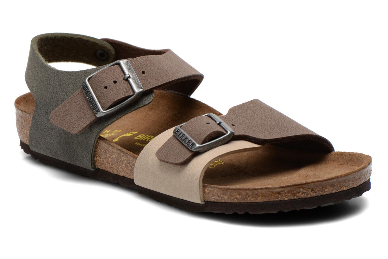 Sandales et nu-pieds Birkenstock NEW YORK Multicolore vue détail/paire